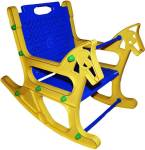 SBJCollections Plastic 1 Seater Rocking Chairs