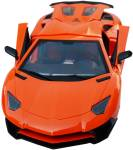 Planet of Toys Radio Control 1:12 5-Function Sport Racer Car Rechargeable Battery, Door Open With Radio