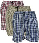 BIS Creations Self Design Men Red, Blue, Yellow Regular Shorts