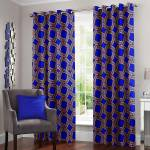 Story@Home 215 cm (7 ft) Polyester Door Curtain (Pack Of 2)