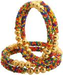 DIMA Alloy Cubic Zirconia Gold-plated Bangle Set