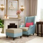 House of Pataudi Fabric Living Room Chair