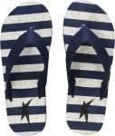 Kraasa Men Hawaii Chappal (Navy) Flip Flops