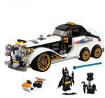 EMOB DIY 305 Pcs Classic Super Heroes Car Model Building Blocks Set Toy with Mini Action Figures