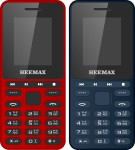 Heemax H1Star Combo of Two mobiles(Blue, Red)