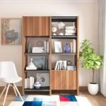 Studio Kook Olivia Modular Fair Engineered Wood Semi-Open Book Shelf