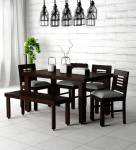 Unique Furniture Solid Wood 6 Seater Dining Set