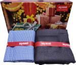 Raymond Cotton Polyester Blend Checkered Shirt & Trouser Fabric