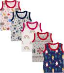 Kidbee Vest For Baby Boys Hosiery, Cotton Blend