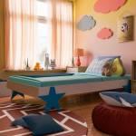 Flipkart Perfect Homes Junior Solid Wood Single Bed