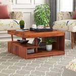 Mooncraft Solid Wood Coffee Table