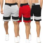 Tripr Color Block Men Multicolor Regular Shorts