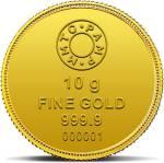 MMTC-PAMP India Pvt Ltd Lotus Series 24 (9999) K 10 g Gold Coin