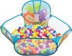 ITOYS Ball Pool with 50 Balls for Kids/ Ball Games for Toddlers/ Multicolor Balls in Ball Pool