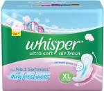 Whisper Ultra Softs Air Fresh XL Sanitary Pad