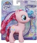 MY LITTLE PONY Toy 6-Inch Pinkie Pie, Pink Pony Figure with Rooted Hair and Comb, for Kids Ages 3 Years Old and Up
