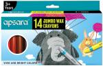 APSARA 14 Jumbo Wax Crayons