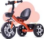 baybee Coaster II Tricycle for Kids, Plug n Play Kids Trike Ride on with Storage Space Kids Toys, Kids Tricycle| Baby Cycle for Kids, Children Cycle Suitable for Boys & Girls Age 1.5-5 Years (Orange) BT1888 Tricycle Tricycle