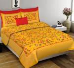 Diva Collection 150 TC Cotton Double Applique Bedsheet