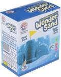 RATNA'S Wonder Sand 500 grams Blue colour.Smooth & Soft sand for kids for hours of sand play,with 1 Big mould inside.