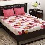 Story@home 152 TC Cotton Double Floral Bedsheet