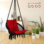 Curio Centre Swing with L-Cushion & Accessories Cotton Large Swing