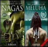 Shiva Trilogy: The Secret of the Nagas and the Immortals of Meluha (Set of 2 Books) (English, Paperback, Amish Tripathi)