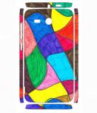 Snooky 811SknHwiAscndY511 Huawei Ascend Y511 Mobile Skin (Multicolor)