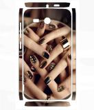 Snooky 792SknHwiAscndY511 Huawei Ascend Y511 Mobile Skin (Brown)