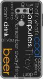 MOUSETRAPS Back Cover for LG V30 PLUS (Multicolor, Flexible Case)
