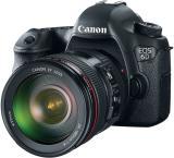 Canon EOS 6D DSLR Camera (Kit 24 - 105) (Black)