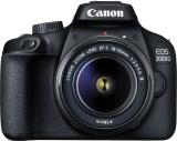 Canon EOS 3000D DSLR Camera Single Kit with 18-55 lens (16 GB Memory Card & Carry Case) (Black)