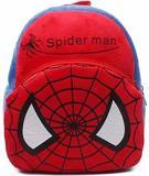DZert School Bag For Kids Soft Spiderman Plush Backpack For Small Kids  Nursery Bag (Age 8cdd078e2ed43
