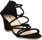 Shuberry Women Black Heels