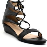 Shuberry Women Black Wedges