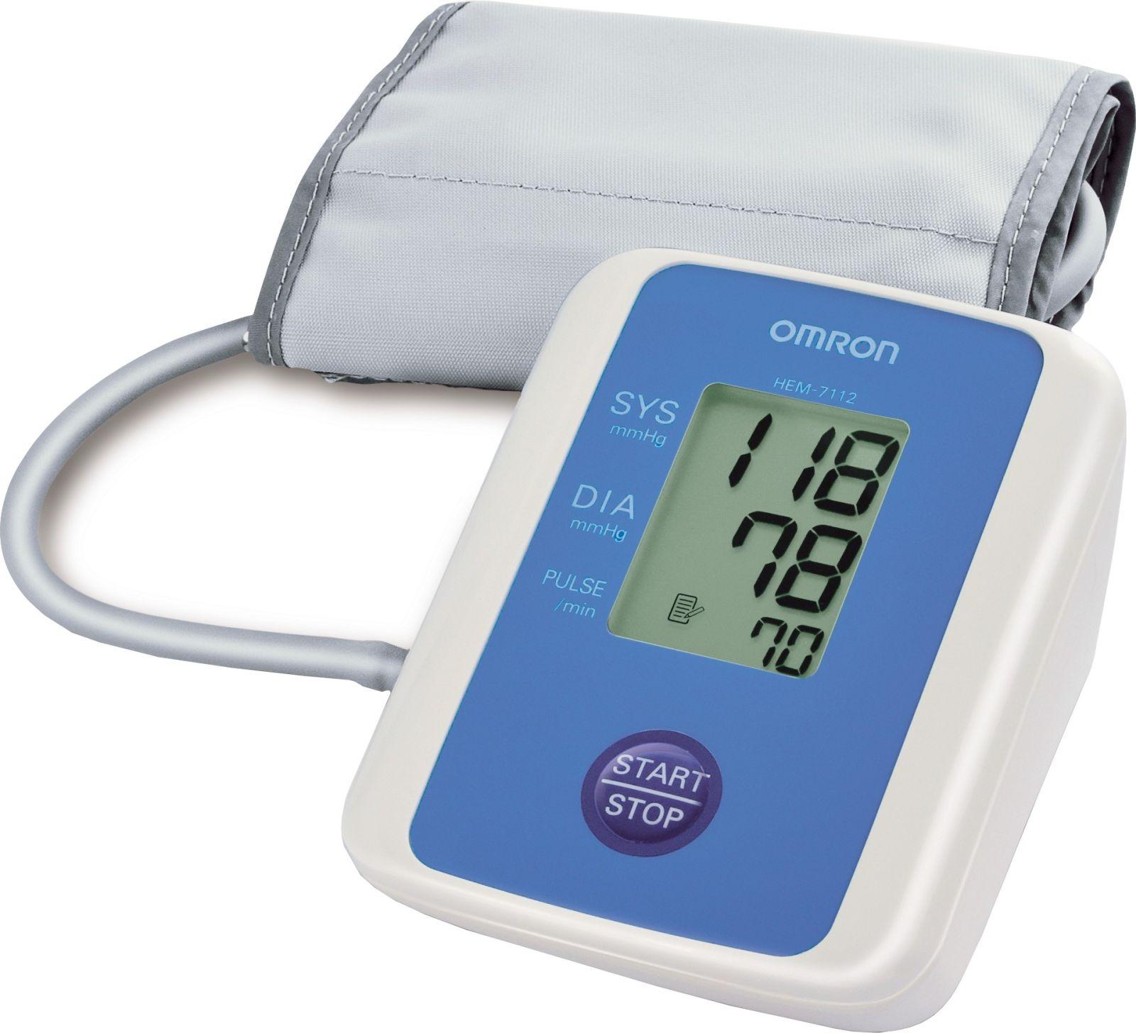 Omron HEM-7112 BP Monitor (White)