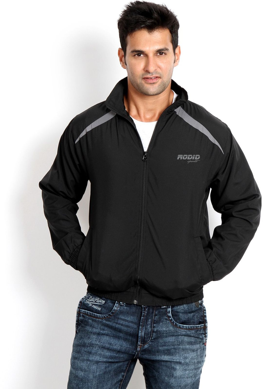 Rodid Rodid Windcheater Solid Mens Wind Cheater