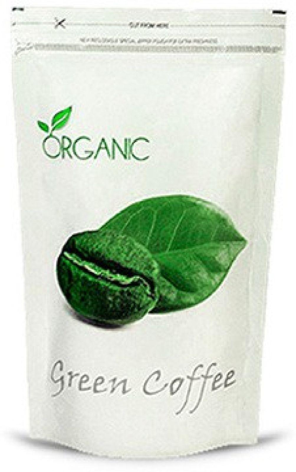 PERENNIAL LIFESCIENCES Organic Green Coffee Beans Roast & Ground Coffee 200 g