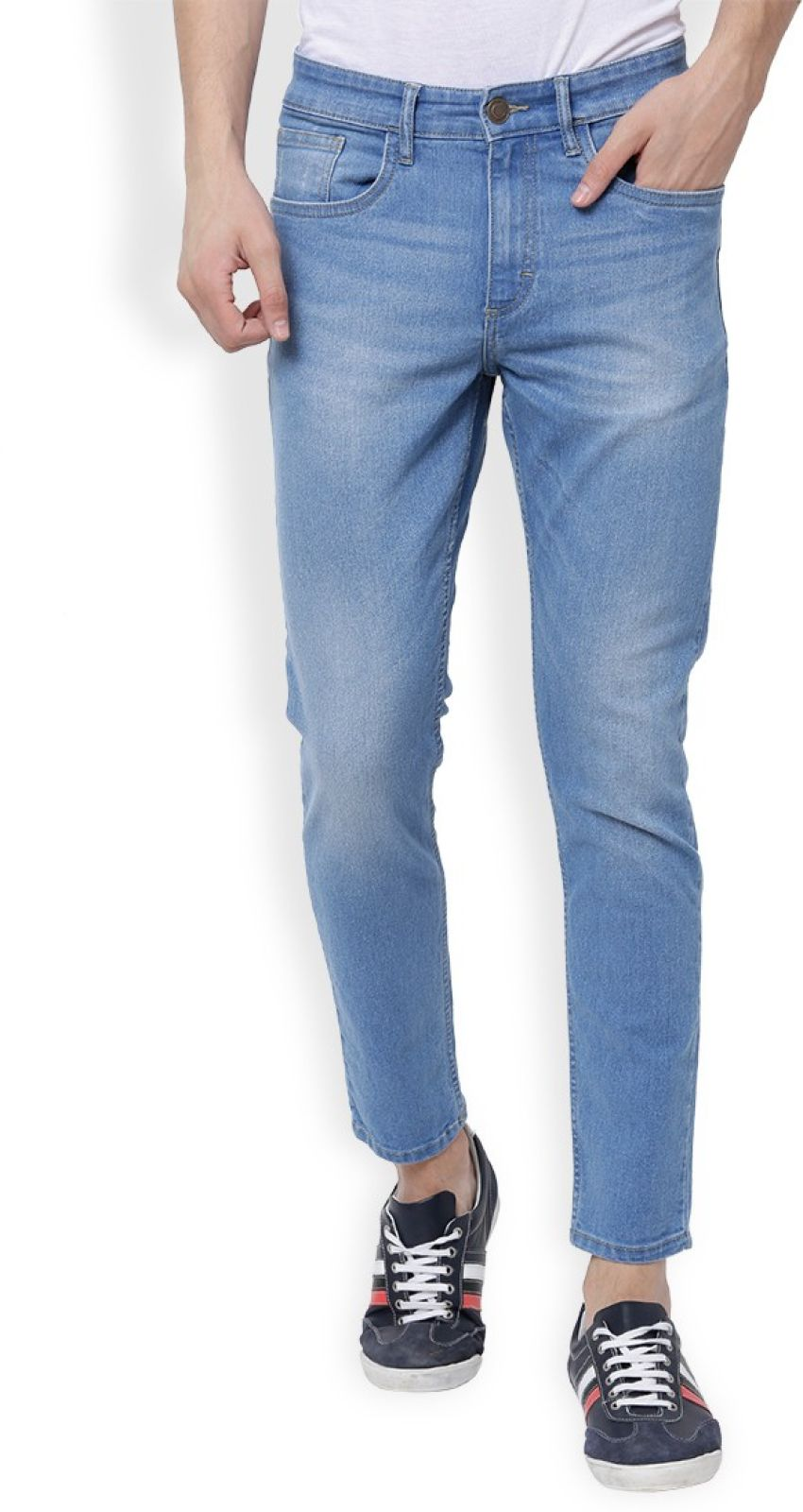 Highlander Slim Men Blue Jeans