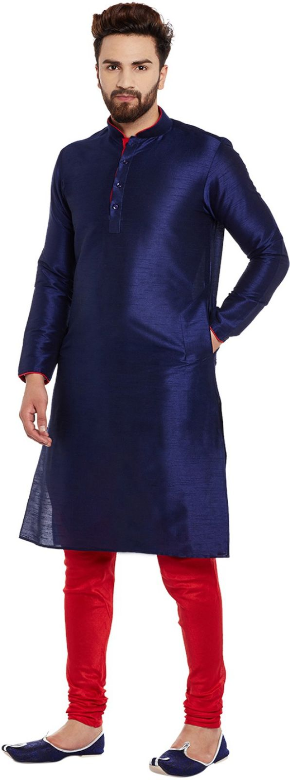 Larwa Mens Kurta and Churidar Set