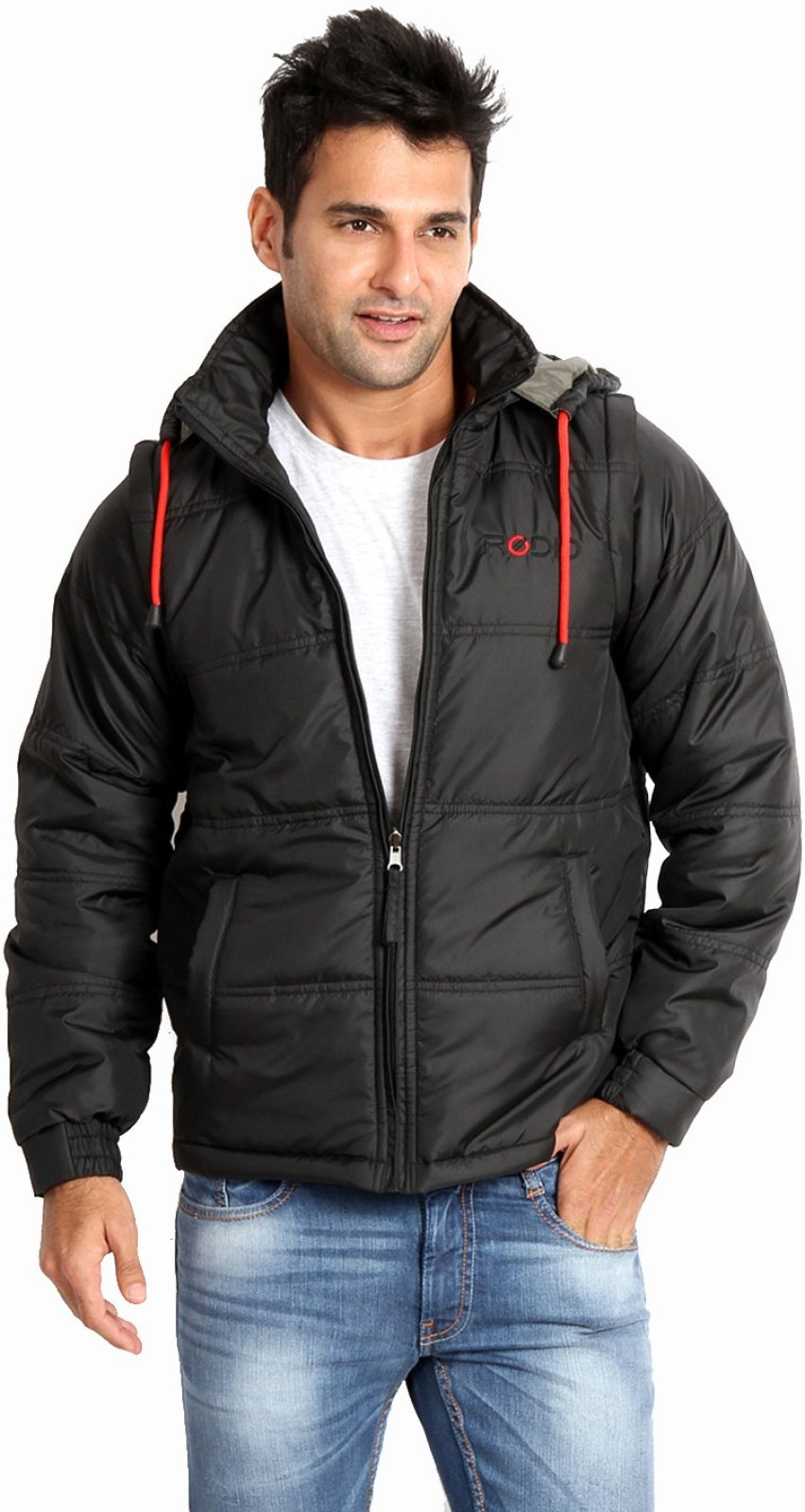 Rodid Full Sleeve Solid Mens Jacket