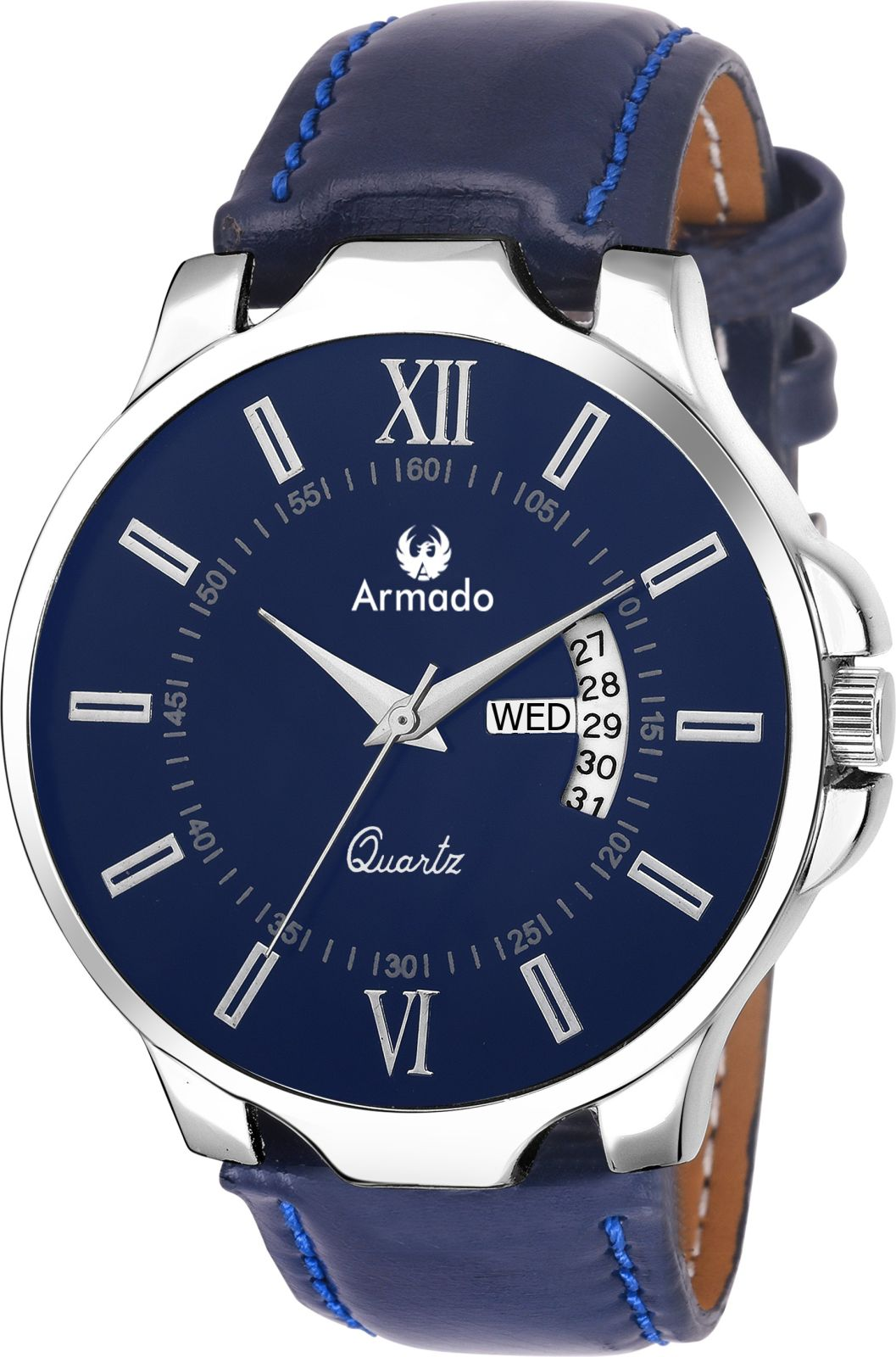 Armado AR-042-BLU Date n Day Watch - For Men