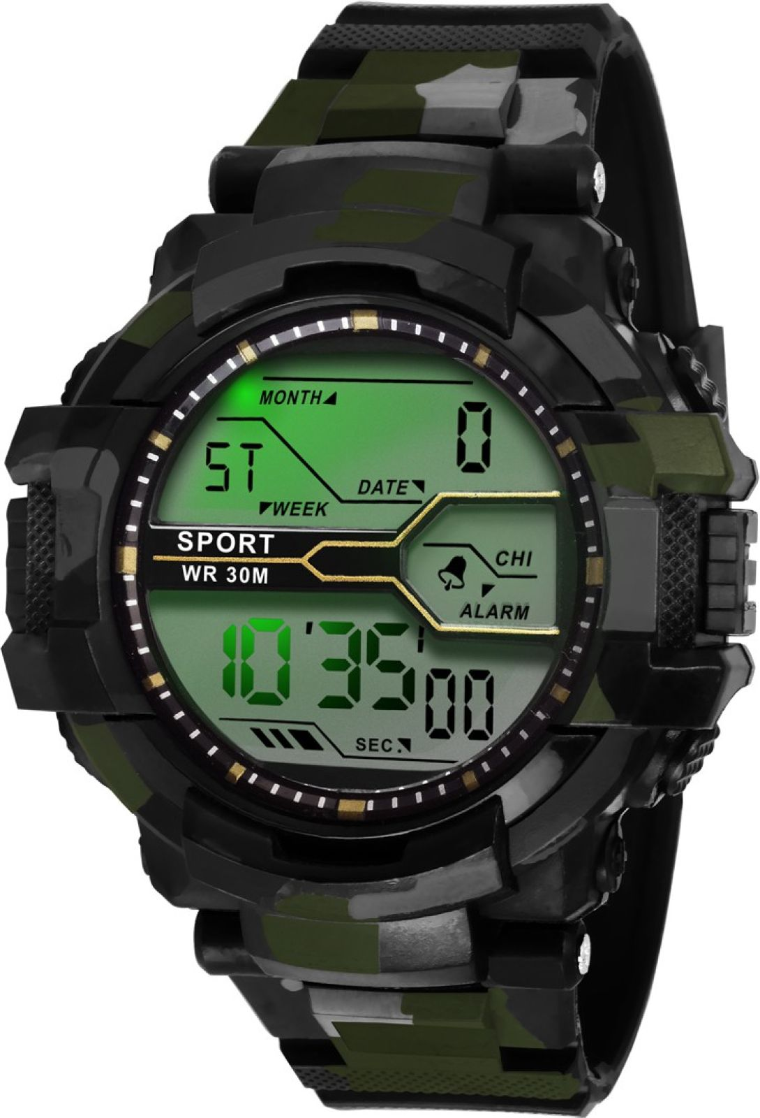 Lois Caron LCS-1002 DIGITAL SPORTS Watch - For Men