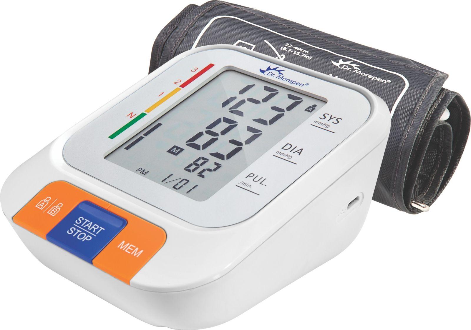 Dr. Morepen BP-15 BPOne Bp Monitor (White)
