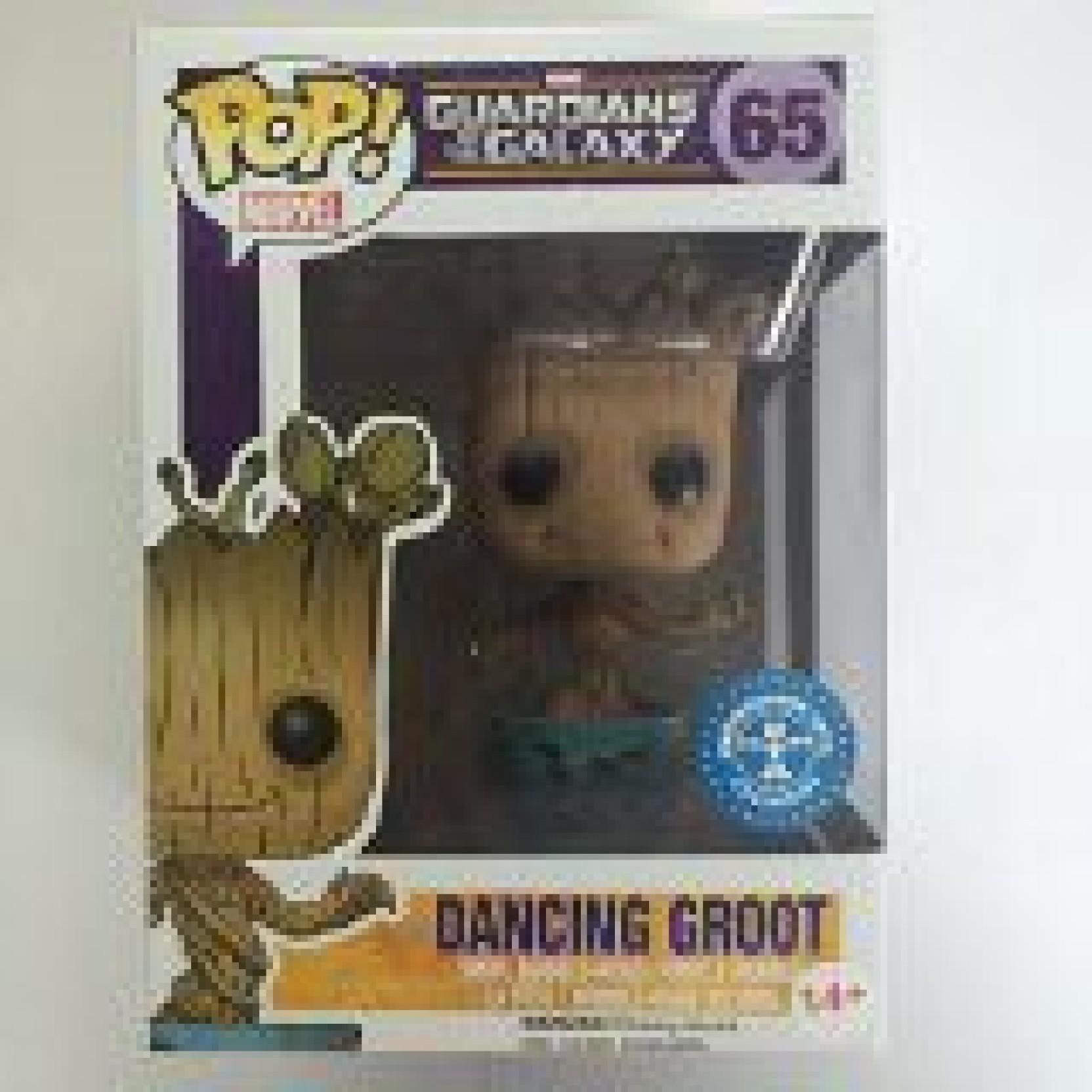 Guardians Of The Galaxy Dancing Groot 65 Vinyl Figure Funko POP