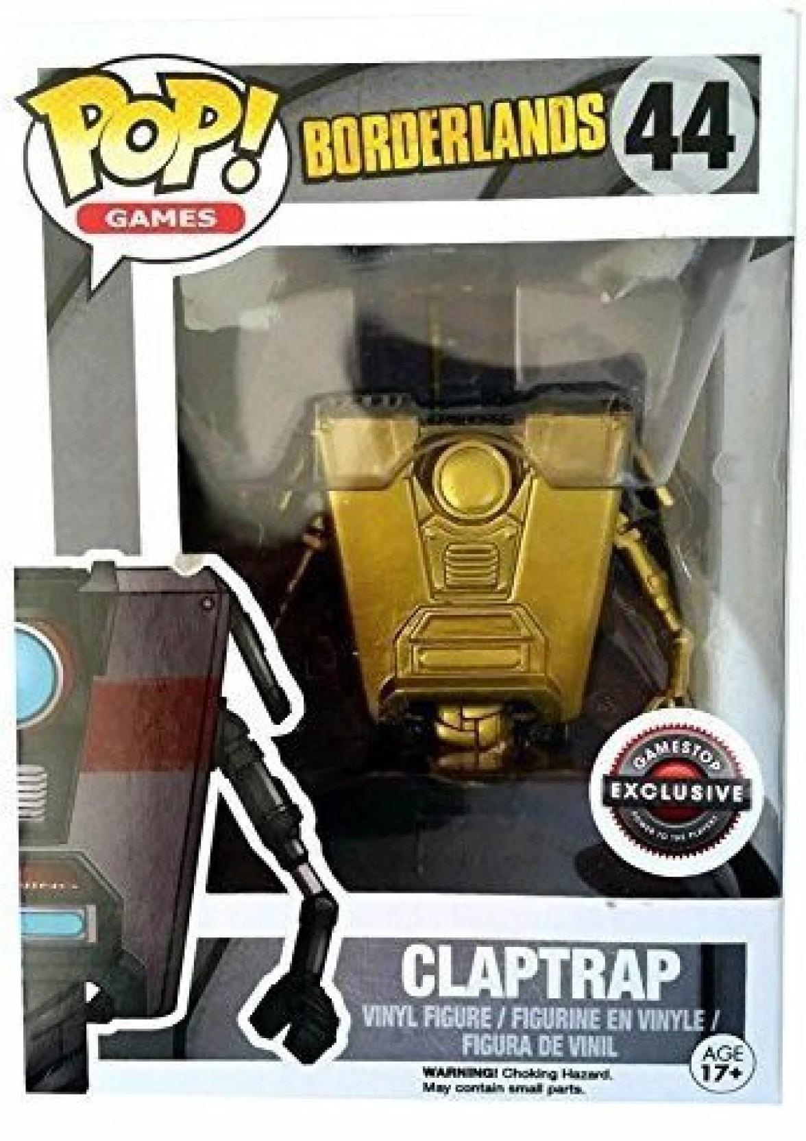 Borderlands 2 Pop! Games #44 Borderlands Claptrap (Gold