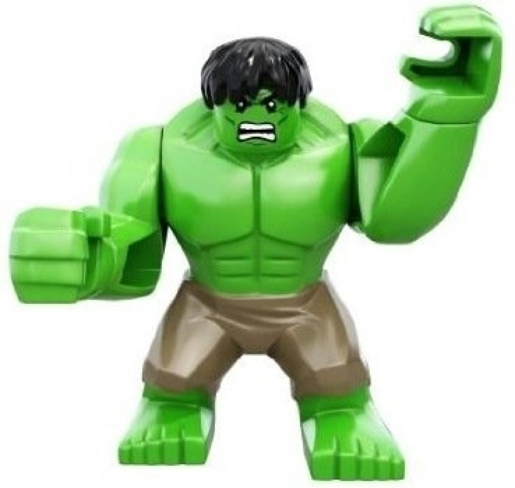 Lego Marvel Super Heroes Incredible Hulk Avengers Mini ...