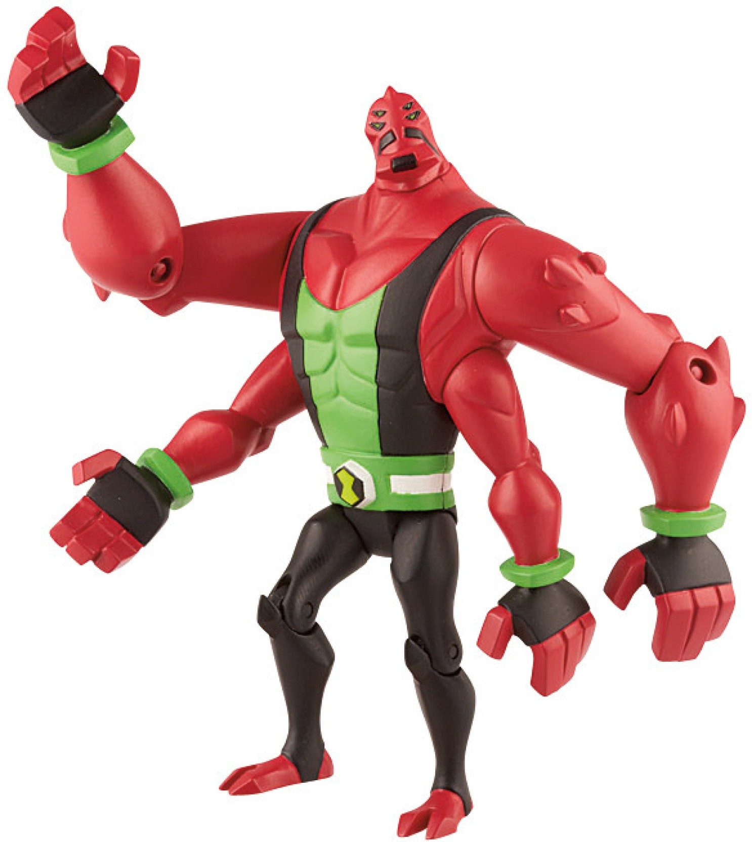 ben 10 omniverse four arms toy review - YouTube