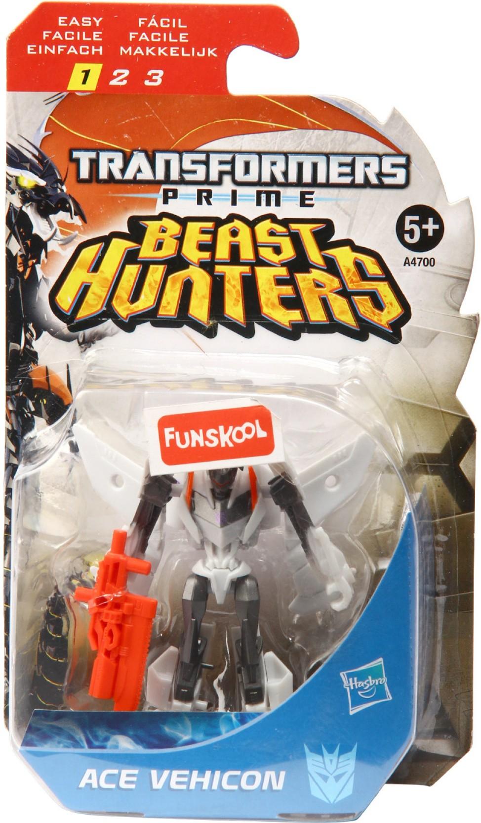 Funskool Transformers Prime Beast Hunters Ace Vehicon