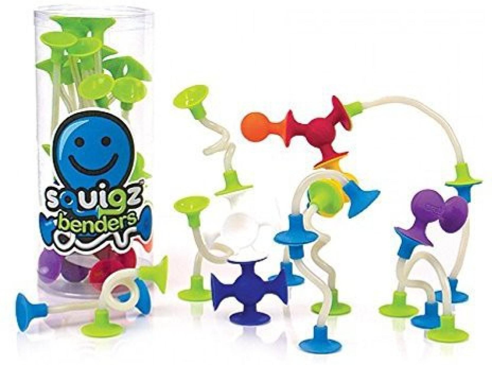 Fat Brain Toys Squigz Benders Squigz Benders Buy Action